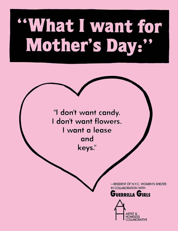 What I want for Mother's Day