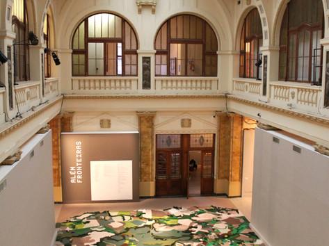 8ª Bienal do Mercosul - Obra de Gal Weinstein, no MARGS, mostra Além Fronteiras