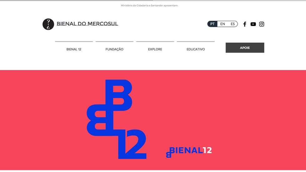 BIENAL DO MERCOSUL SITE - Screen Shot 20