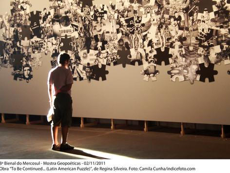 "8ª Bienal do Mercosul - Obra ""To Be Continued (Latin American Puzzle), de Regina Silveria,"