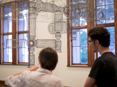 9a Bienal do Mercosul. Obra Transmissao de dez minutos, 19972003. Artista Allora e Calzadilla. Espaco Margs.
