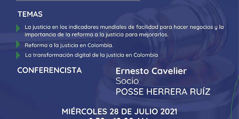 Reforma de la justicia en Colombia