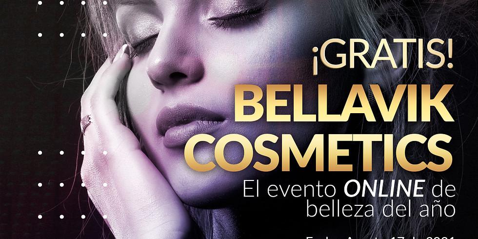 Gran evento de belleza ONLINE de Bellavik Cosmetics