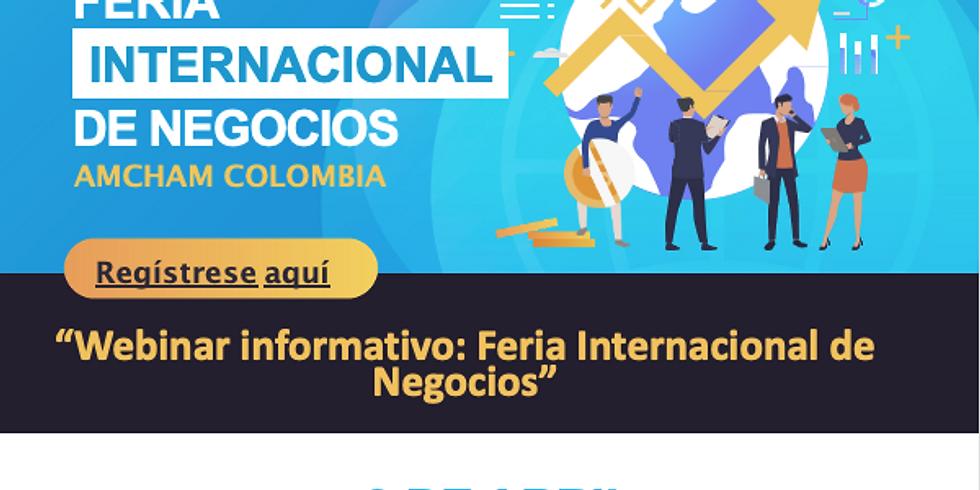 Webinar informativo - Feria Virtual Internacional