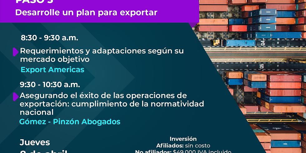 Paso 3 - Ruta Exportadora