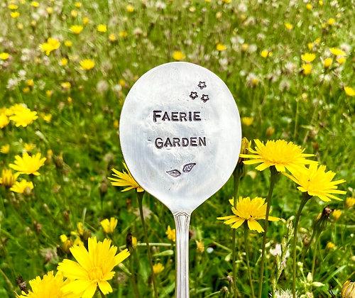 Faerie Garden Plant Marker