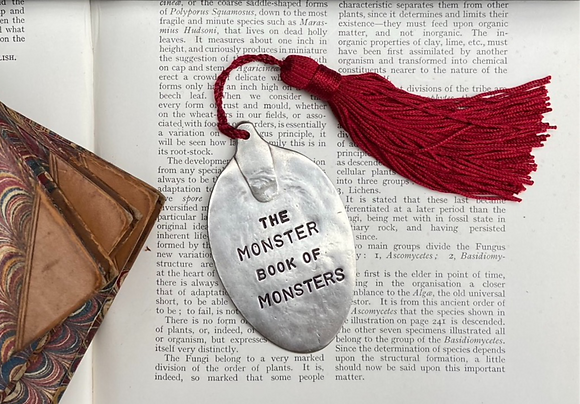 The Monster Book of Monsters Bookmark