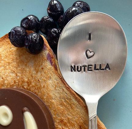 I Heart Nutella Spoon