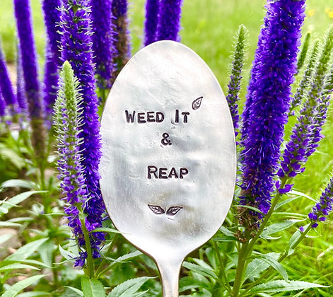 Weed It And Reap Garden Marker