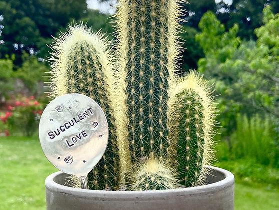 Succulent Love Plant Marker