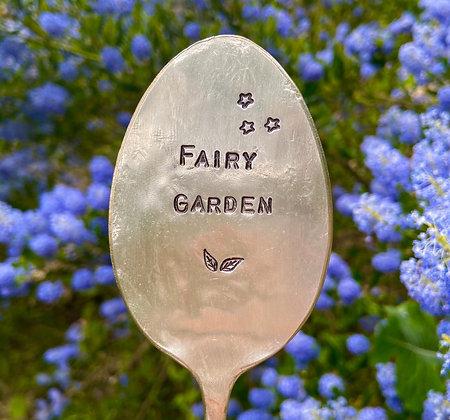 Fairy Garden Plant Marker