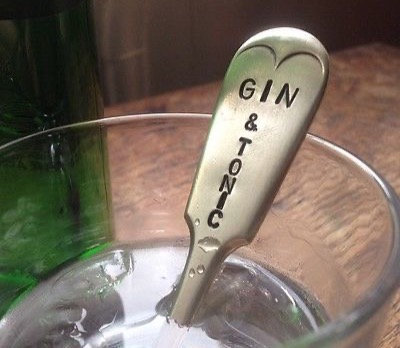 Gin and Tonic Drinks Stirrer