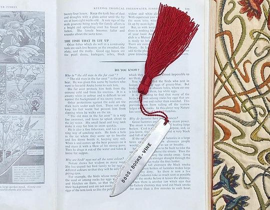 Dogs - Books - Wine Bookmark
