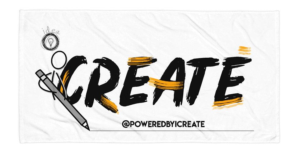 iCreate  beachTowel