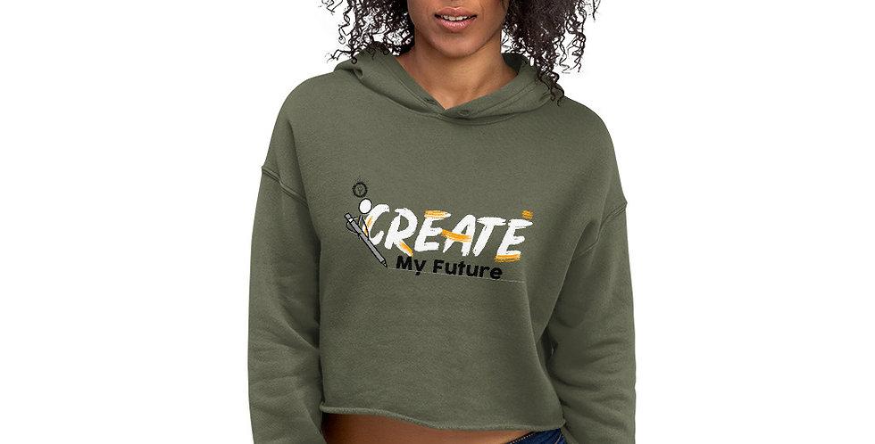 My Future Crop Hoodie
