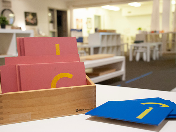 Specialized Montessori materials