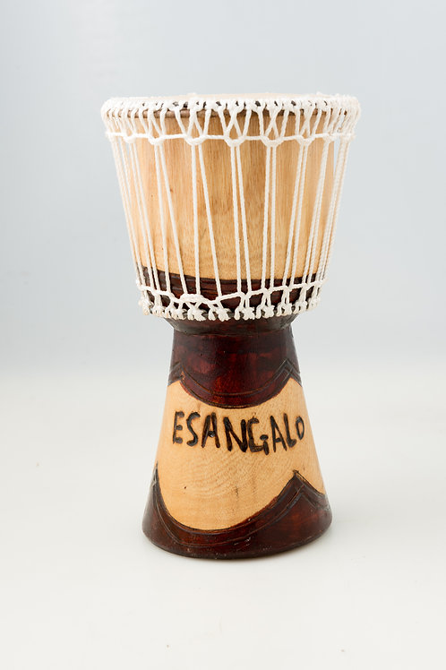 Hand-Crafted Wooden Drum
