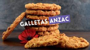 Recetas de las famosas galletas ANZAC