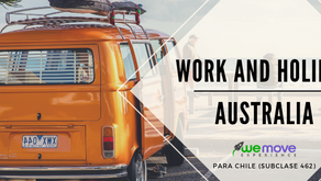 Work and Holiday (subclase 462) - Chile
