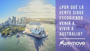 ¿Por qué la gente sigue escogiendo venir a vivir a Australia?