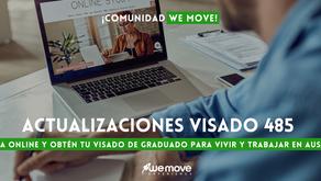 Actualizaciones Visa Temporary Graduate (Subclass 485) - ¡Optimiza tus planes!