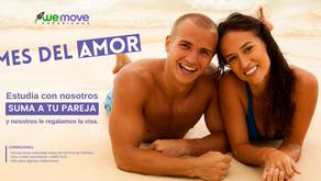 ¡El mes del amor aún no llega a su fin, es por esto que le regalamos la visa a tu pareja!