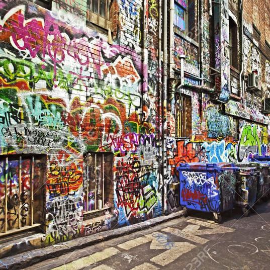 12368325-그런-골목-낙서에-덮여있다-시어-레인-멜버른-호주-hdr