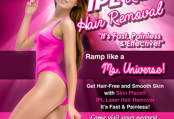 Get Hair-Free & Smooth Skin with Skinplace® IPL Laser Hair Removal