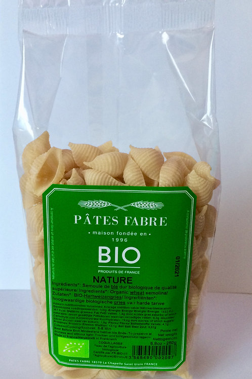 Coquillages Bio nature