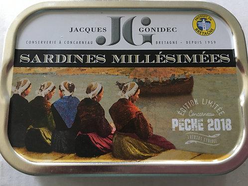 Sardines Millésimées 2018 - Huile d'olive Bio