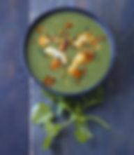 soupe-d-epinards-au-crabe-et-lait-de-coc