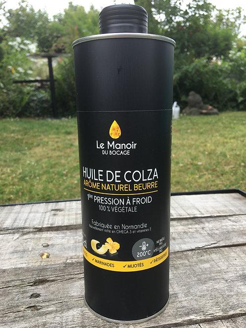 Huile de colza de Normandie arôme naturel de beurre