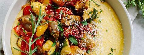 recette-vegetarienne-polenta-ratatouille