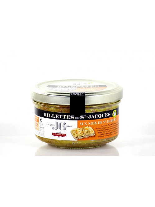 Rillettes de noix de Saint-Jacques - 90 g