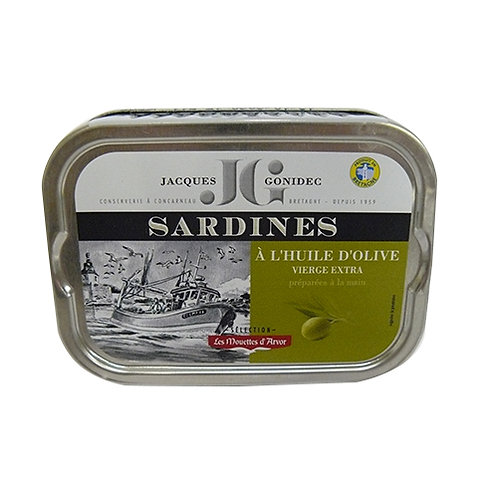 Sardines à l'huile d'olive extra vierge 115 g