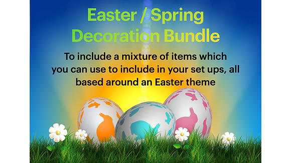 Easter / Spring Accessories Bundle