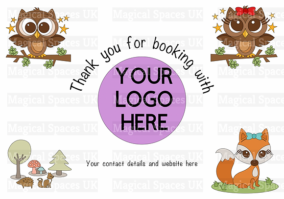 Personalised Thank You Tray Insert