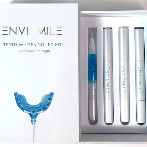 ENVISMILE TEETH WHITENING LED KIT & GEL