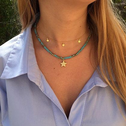 Conjunto Estrella Azul-Verde