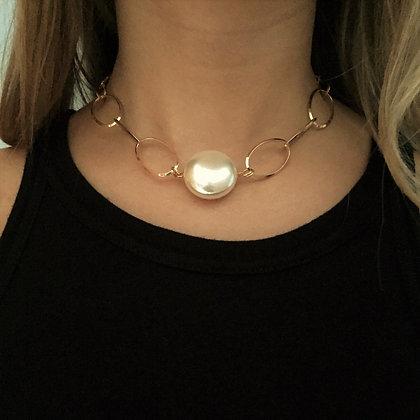 Cadena Andromeda con perla