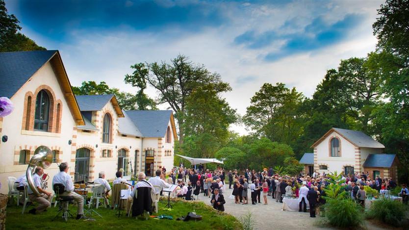 Mariage au chateau de la Mazure (Forcé,Mayenne,Laval).