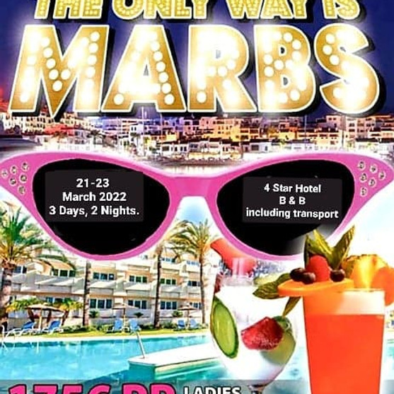 The Only Way is Marbs - Ladies Only Event