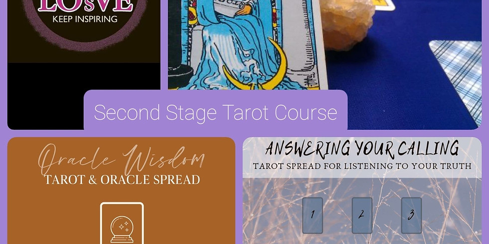 Second Stage Tarot Course