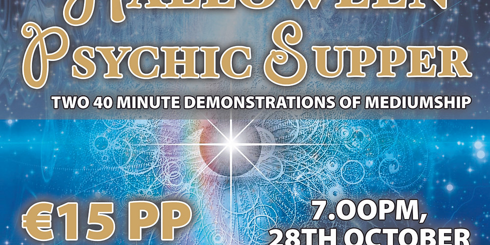 HALLOWEEN PSYCHIC SUPPER SOLD OUT SOLD OUT