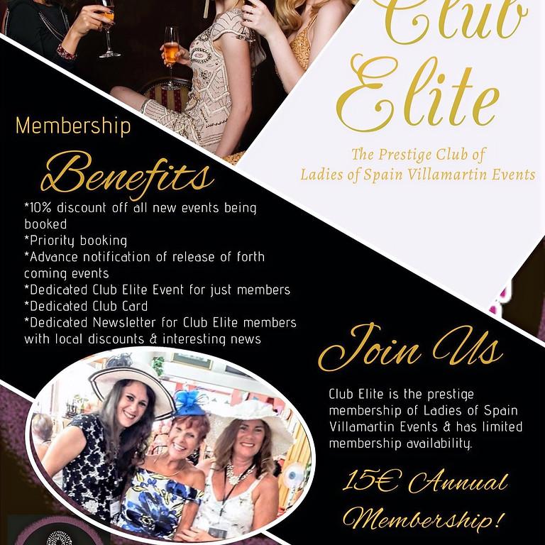 Club Elite - Ladies of Spain Villamartin Events VIP Membership