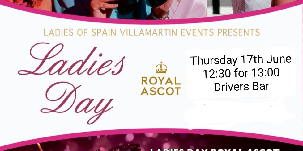 Ladies Ascot Day - The Sporting Event of the year raising funds for Pink Ladies