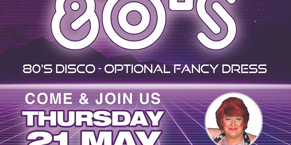 Back to the 80's Disco - Partners welcome CANCELLED