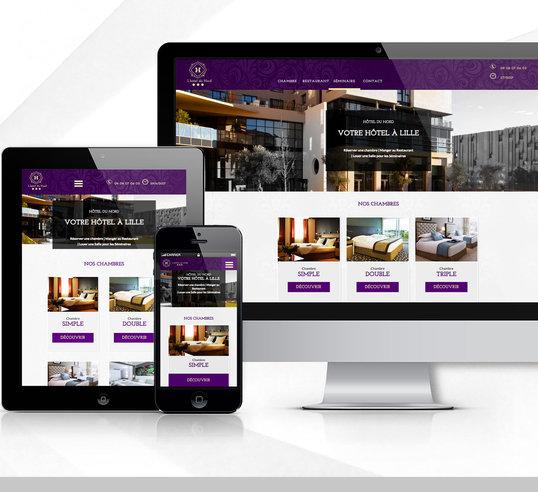 Responsive Design - Hôtel du Nord