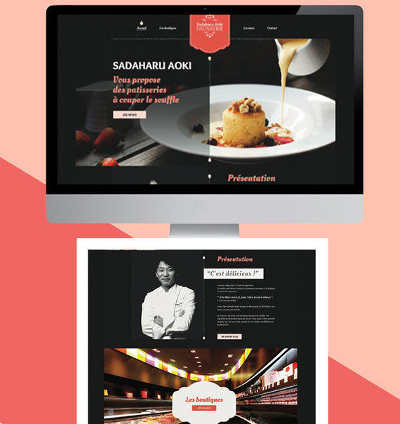 Webdesign - Patisserie