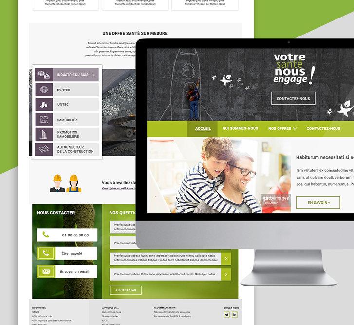 Webdesign - ProBTP